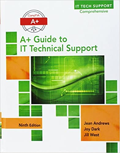 Bundle A Guide To It Technical Support Hardware And Software