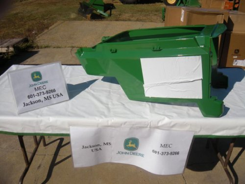 John Deere Lower Hood AM117724 for models LX178 and LX188. by John Deere