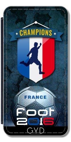 Funda de silicona para Iphone 5/5S - 2016 Pies Francia by comlaprom Simili-Cuir