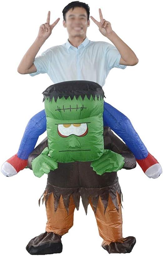 JIANG BREEZE Disfraz de Frankenstein Inflable, Cosplay ...