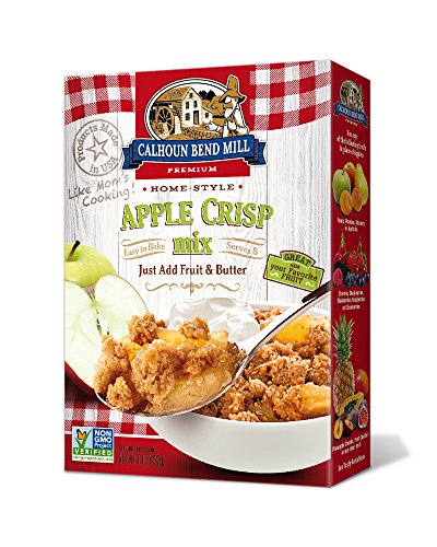 Calhoun Bend Mill Apple Crisp Mix 8 Ounces (Case of - Pie Cobbler Apple