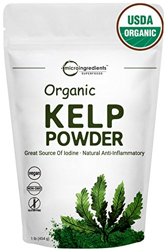 - Sustainably U.S Grown Organic Kelp Powder. 1 Pound Powerful Cellulite Treatment - Fresh Norwegian Ascophyllum Nodosum - Perfect For Body Wraps, Scrubs & Facials. Non-GMO and Vegan Friendly (1 Pound)