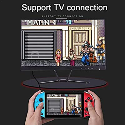 astolily Retro Portable Console for X12pro, Double Rocker Game Console Machine 5.1 inch Large Screen 128-bit 8G Memory with 3000 Games: Home & Kitchen
