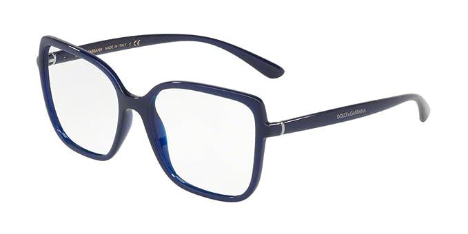 d21bb03b2ff Image Unavailable. Image not available for. Colour  Eyeglasses Dolce   Gabbana  DG 5028 3094 OPAL BLUE