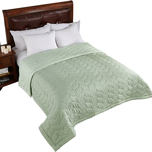 (Home Elements Reversible Down Alternative Quilted Blanket, King Size)