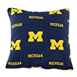College Covers MICODP Michigan Wolverines Outdoor Decorative Pillow, 16'' x 16'', Blue