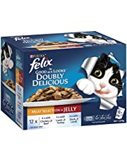 Felix Doubly Delicious - Meat Selection in Jelly, Adult and Senior, 60x85g