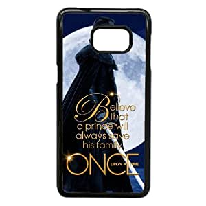 Samsung Galaxy S7 Phone Case Black TV Series Once Upon A Time Case Cover PP7U368050