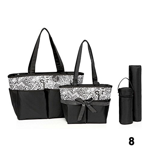 Colorland 13PC Baby Diapper Bag Set Large Capasity Shoulder