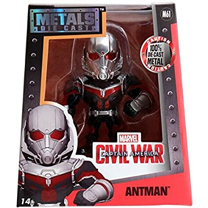 1a1094e9911 Amazon.com  Metals Marvel 4 inch Classic Figure - Antman (M61)  Toys ...