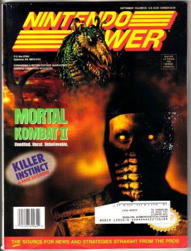 Nintendo Power Magazine - Mortal Kombat II (Volume - Killer Instinct Wii Game