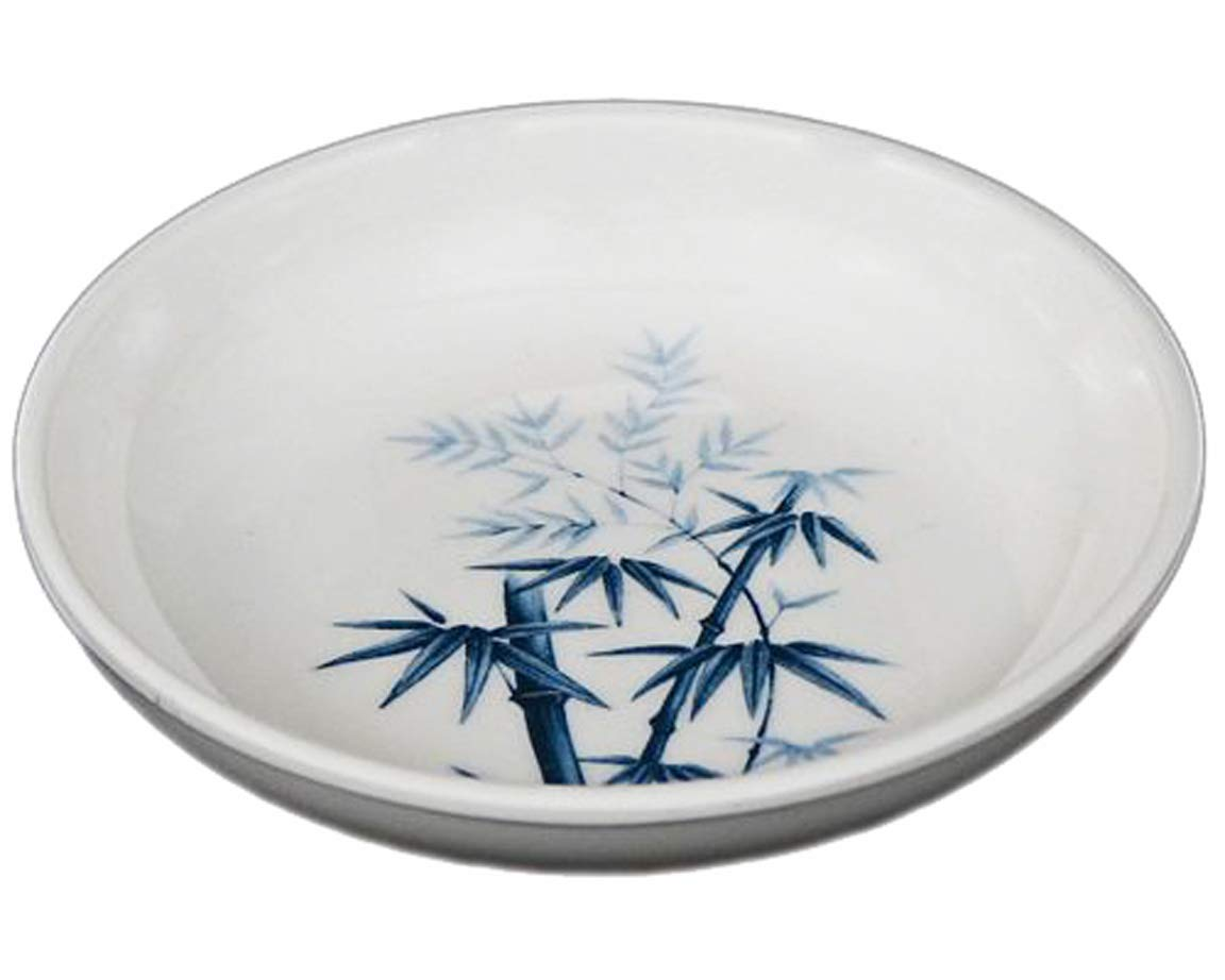 Dipping Bowls Melamine Sauce Dishes Happy Sales HSWD-BB04 Set of 4 pc Bamboo