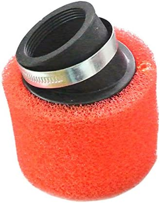 45mm Air Filter Angled Dual Layer Sponge Cleaner For 125cc 140cc 150cc CRF KLX