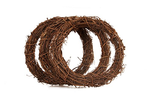 7Life Natural Grapevine Wreath -Home Kitchen DIY Creative Garlands 12inch (3)