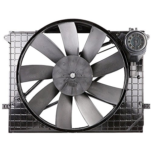 Condenser Or Radiator Cooling Fan Assembly For Mercedes CL500 S430 S500 CL55 - BuyAutoParts 19-20002AN New
