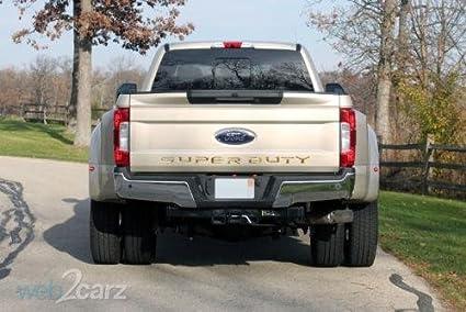 SUPERDUTY Letters Decal Emblem Tailgate Sticker for 2017 Ford F150 F250 F350 F450 F550 Super Duty Matte Black