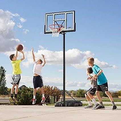 Lifetime 90584 Portable Basketball System 46 Inch Shatterproof Backboard