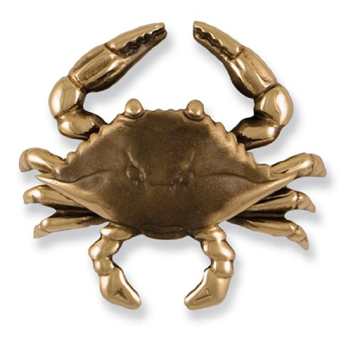 Blue Crab Door Knocker - Bronze (Premium Size)