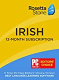 Learn Irish: Rosetta Stone Irish - 12 month subscription
