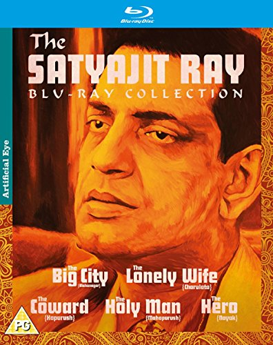 Satyajit Ray Collection (The Big City / The Lonely Wife (Charulata) / The Hero (Nayak) / The Coward / The Holy Man) [Blu-ray Region B Import - UK]