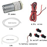 Delinx DC 6V Air Pump Motor Low Noise DIY Project Kits (exclude cardboards)