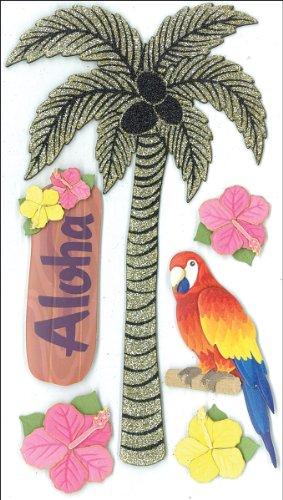 Punch Palm Tree - Jolee's Boutique Parcel Glitter Palm Tree