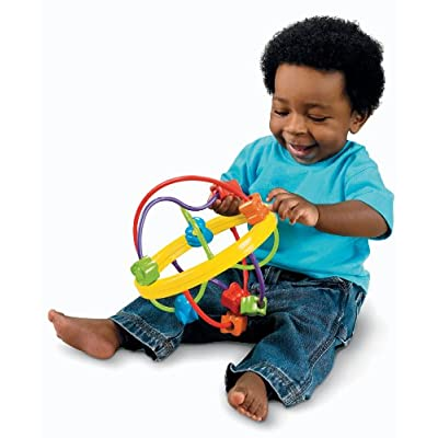 Fisher-Price Fun to Discover Bead Ball: Toys & Games