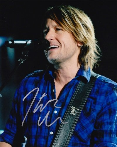 Keith Urban Autographed - Hand Signed Concert 8x10 Photo - Guaranteed to pass PSA or JSA - American Idol Judge - Country Singer