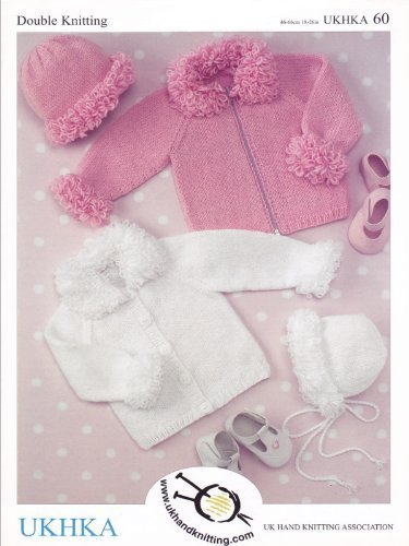 Amazon Ukhka60 Cardigans Hat And Bonnet Baby Double