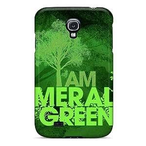 Samsung Galaxy S4 CSq17985XhUg Custom Beautiful Green Day Pictures Shockproof Hard Phone Covers -IanJoeyPatricia