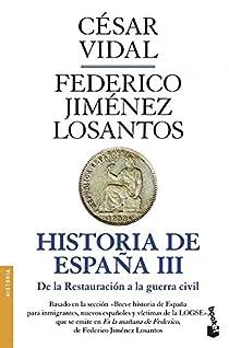 Historia de España III par Vidal