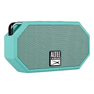 Altec Lansing IMW257-MT Mini H2O Wireless Bluetooth Waterproof Speaker, Floats on Water, Made for Outdoors, Indoors, Beach, Rugged & Strong, Hands-Free Talk, 6 Hour Battery Life, Ultra-Portable