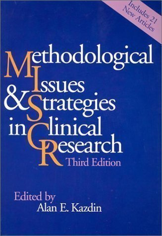 Methodological Issues & Strategies in Clinical Research 3rd (third) Edition published by Amer Psychological Assn (2003) Paperback