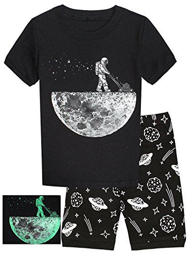 Pajamas Space Glow Toddler Clothes Sleepwear product image