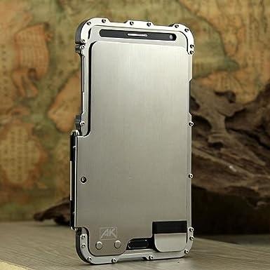 Armor Rey Plateado Lujo Metal Carcasa de Aluminio para ...
