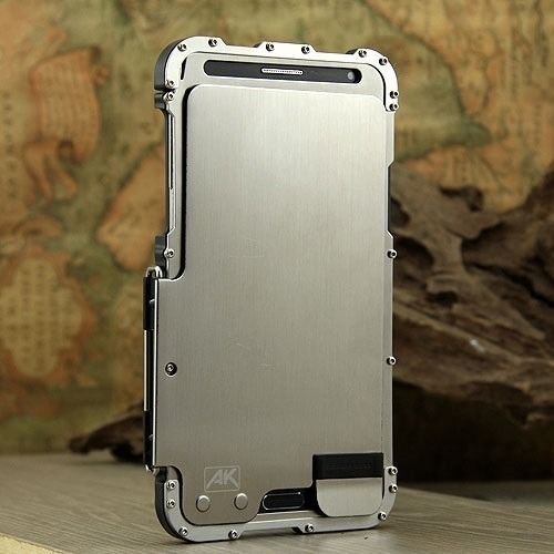 Amazon.com: ARMOR KING Silver Luxury Metal Aluminum Case ...