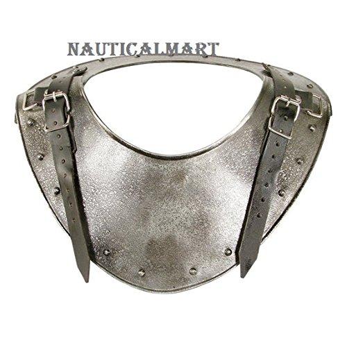 NauticalMart Medieval Dark Warrior Gorget Neck Body Armour One Size by NauticalMart