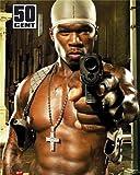 empireposter - 50 Cent - Gun - Größe (cm), ca. 40x50 - Mini-Poster, NEU -