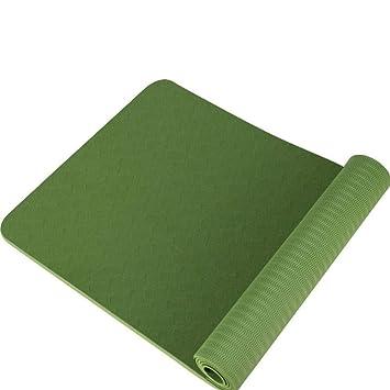 YanLong Colchoneta de Yoga con Materiales ecológicos. Peso ...