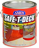 Ames Safe-T-Deck Granulated 1 gallon Red Safe-T-Deck Granulated