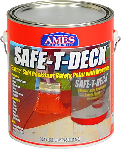 Ames SD1GY Safe-T-Deck Granulated, Grey