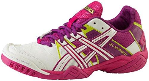 nbsp;botas purple nbsp;w Para morado Mujer Fútbol Gel Interiores Asics pink Blanco Enfoque Weiss 2 Color De nbsp;– BqUw1AWH5
