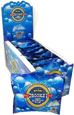 Harry Potter Droobles Best Blowing Bubble Gum 16ct.