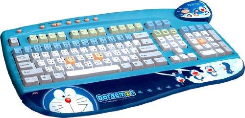 Doraemon Keyboard by Fuji