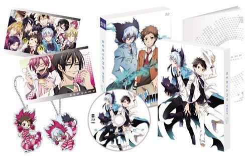 SERVAMP - サーヴァンプ - ( イベントチケット優先販売申込券付 ) 全6巻セット  [マーケットプレイス Blu-rayセット] B071128H9C