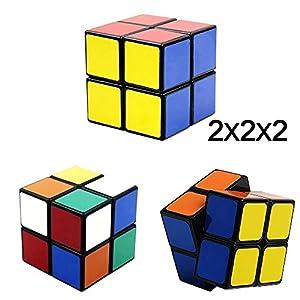Allure Maek Magic Cube Puzzle Bundle Pack Set-2x2x2,3x3x3,4x4x4,5x5x5