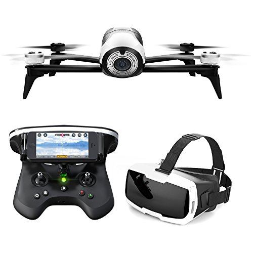Parrot BeBop 2 Drone with FPV Bundle (Certified Refurbished)