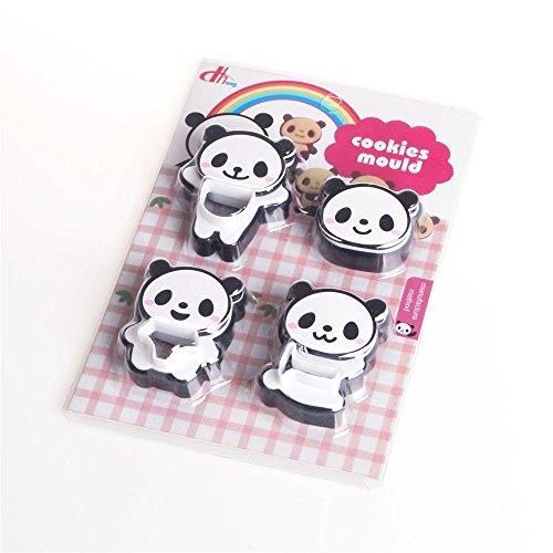 - Panda Bear Shape - Panda Shape Cookie Cutter, Baking, Cooking Accessories