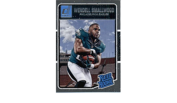 Rookie Wendell Smallwood, 2016 PANINI DONRUSS #399 FOOTBALL CARD!!!