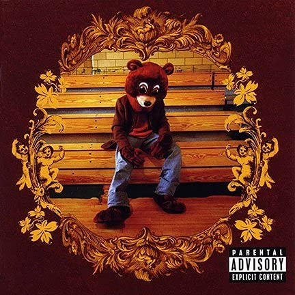 Ultimate posterALBUM Cover Poster Kanye WEST: The College Dropout 12x18 inch Rolled